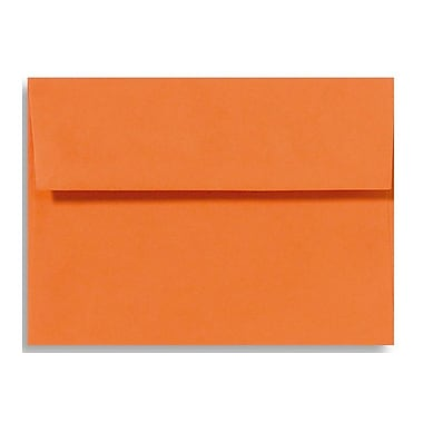 LUX A9 Invitation Envelopes (5 3/4 x 8 3/4) 250/Box, Mandarin (EX4895-11-250)