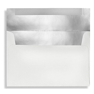 LUX A9 Invitation Envelopes (5 3/4 x 8 3/4) 50/Box, Private Mirror (MR4895-02-50)