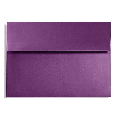 LUX A9 Invitation Envelopes (5 3/4 x 8 3/4) 50/Box, Purple Power (FA4895-06-50)