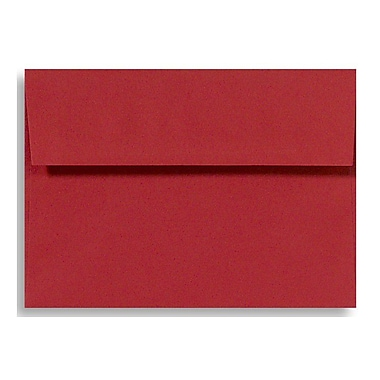 LUX A9 Invitation Envelopes (5 3/4 x 8 3/4) 500/Box, Ruby Red (EX4895-18-500)