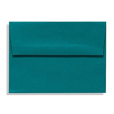 LUX A9 Invitation Envelopes (5 3/4 x 8 3/4) 50/Box, Teal (EX4895-25-50)