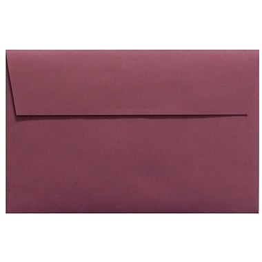 LUX A9 Invitation Envelopes (5 3/4 x 8 3/4) 50/box, Vintage Plum (LUX-4895-104-50)