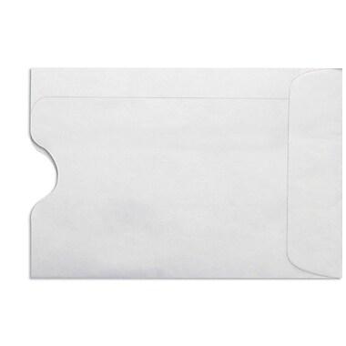 LUX Credit Card Sleeve (2 3/8 x 3 1/2) 50/Box, 24lb. White (1801-W-50)
