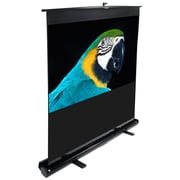 Elite Screens ® ezCinema Series F100NWH Manual Floor Mount Projection Screen, 100""