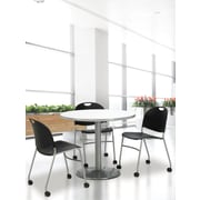 KFI Seating Steel Reception Chair, Black, 4/Carton (CS2100SL)