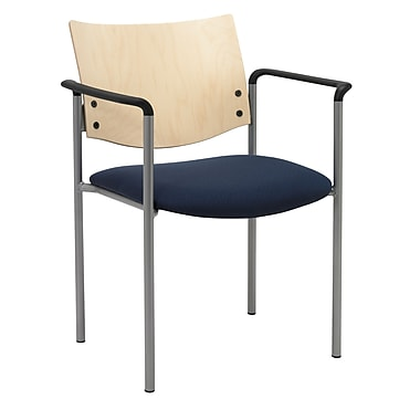 KFI Seating Steel Guest Chair, Blue Confetti, 2/Carton (1311SL-S22-2310)