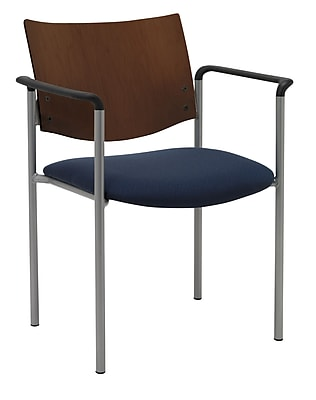 KFI Seating Steel Guest/Reception Chair, Blue Confetti, 2/Carton (1311SL-S20-2310 )