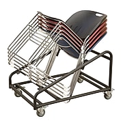 KFI® Seating 400 lbs. Steel Chair Dolly For 2100 Series Stack Chair, 1/Ea