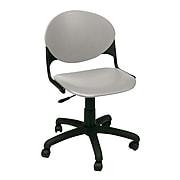 KFI® Seating Polypropylene Task Chair, Cool Gray, 2/Ct