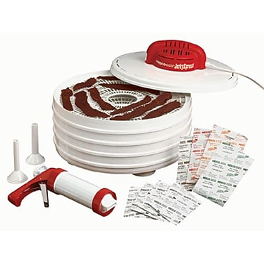 Nesco® FD-28JX 350W 4-Tray Jerky Xpress Food Dehydrator With Gun and 4 Spices