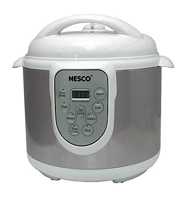 Nesco® 4-in-1 6 Quart Digital Pressure Cooker
