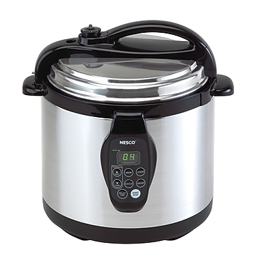 Nesco® 3-in-1 Stainless Steel 6 Quart Digital Pressure Cooker