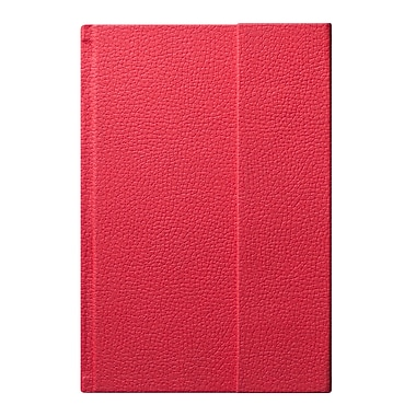Eccolo™ Faux Leather World Jazz Flap Journal, Red