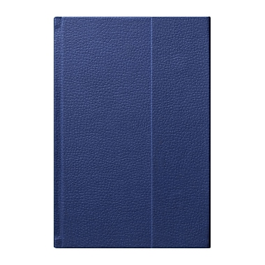Eccolo™ Faux Leather World Jazz Flap Journal, Blue