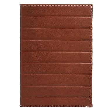 Eccolo™ Leather Art Deco Journal, Brown