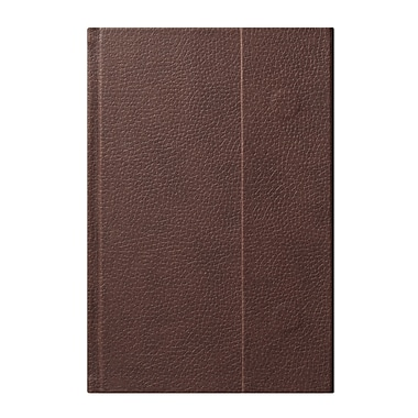 Eccolo™ Faux Leather World Jazz Flap Journal, Brown