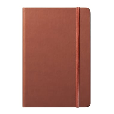 Eccolo™ Faux Leather Medium Cool Jazz Journal, Tan