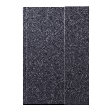 Eccolo™ Faux Leather World Jazz Flap Journal, Gray