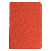 Eccolo™ Faux Leather Baroque Journal, Orange