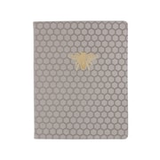Eccolo™ Faux Leather Bee Journal, Gray
