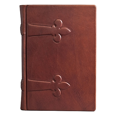 Eccolo™ Italian Leather Monastic Journal, Brown