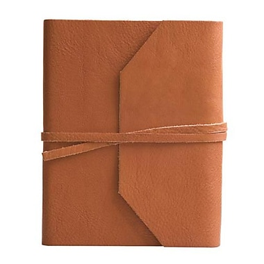 Eccolo™ Italian Leather Frieri Journal, British Tan