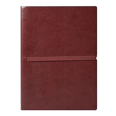 Eccolo™ Faux Leather Elastico Journal, Brown