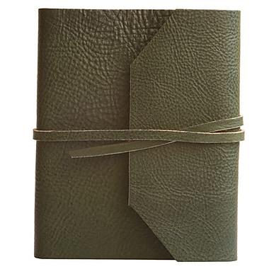 Eccolo™ Italian Leather Frieri Journal, Hunter Green