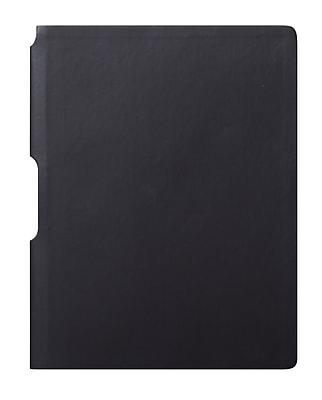 Eccolo™ Faux Leather Groove Jazz Desk Journal, Black
