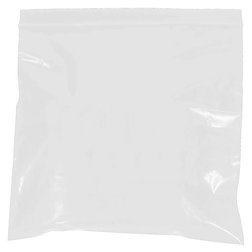"9""W x 12""L Reclosable Poly Bag, 2.0 Mil, 1000/Carton (PB3645)"