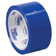 "Tape Logic 2"" x 55 yds. x 2.2 mil Carton Sealing Tape, Blue, 6/Pack"