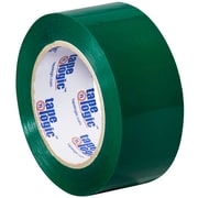 "Tape Logic 2"" x 110 yds. x 2.2 mil Carton Sealing Tape, Green, 6/Pack"