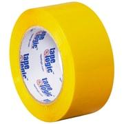 """Tape Logic 2"""" x 110 yds. x 2.2 mil Carton Sealing Tape, Yellow, 6/Pack"""