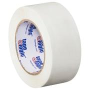 """Tape Logic 2"""" x 110 yds. x 2.2 mil Carton Sealing Tape, White, 6/Pack"""