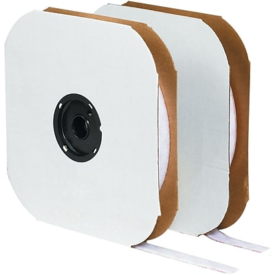 Tape Logic Permanent Individual Tape Hook Strip, Roll, White