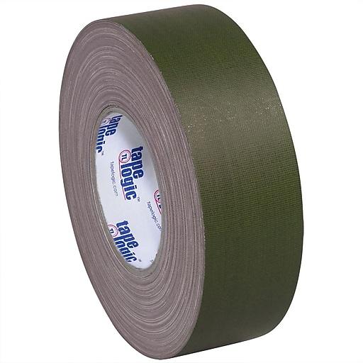 "Tape Logic 2"" x 60 yds. x 11 mil Gaffers Tape,  Olive Green, 24/Carton"
