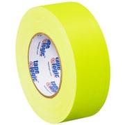 "Tape Logic 2"" x 50 yds. x 11 mil Gaffers Tape,  Fluorescent Yellow,  3/Pk"