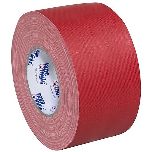 "Tape Logic 3"" x 60 yds. x 11 mil Gaffers Tape,  Red,  3/Pk"