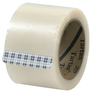 "3M 3"" x 110 yds. x 1.6 mil 369 Carton Sealing Tape, Clear, 6/Pack"