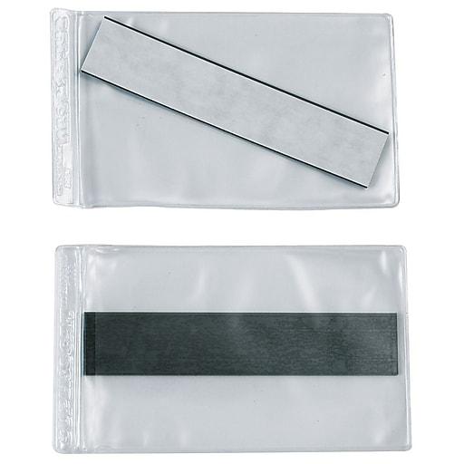 "Superscan 9"" x 12"" Magnetic Vinyl Envelope, 50/Carton"