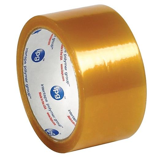 "Intertape 2"" x 110 yds. x 2.9 mil #520 Carton Sealing Tape, Clear, 6/Pack"