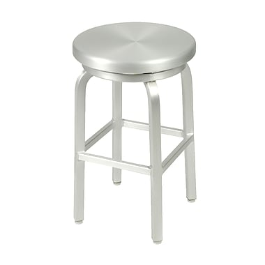 Euro Style™ Miller-C Aluminum Swivel Counter Stool