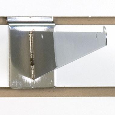 Slatwall Shelf Bracket, Chrome, 12