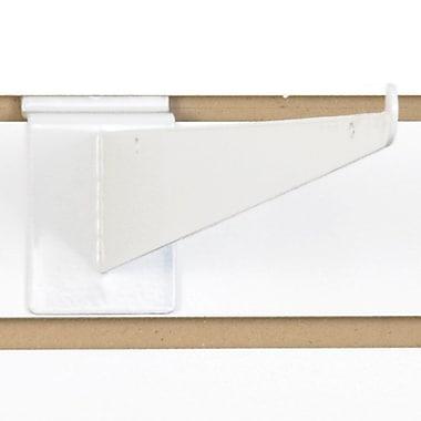 Slatwall Shelf Bracket, White, 14