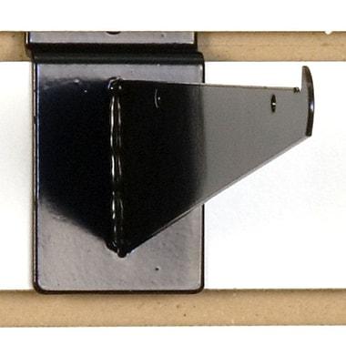 Slatwall Shelf Bracket, Black, 8