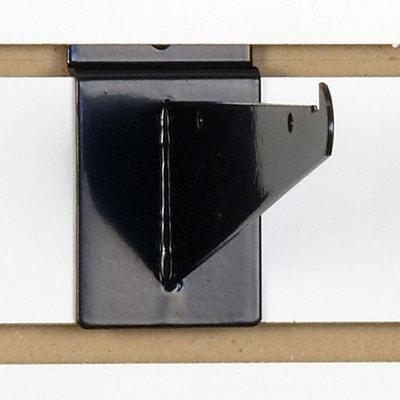Slatwall Shelf Bracket, Black, 6