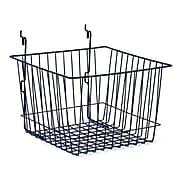 """Wire Basket, Black, 12"""" X 12"""" X 8"""""""