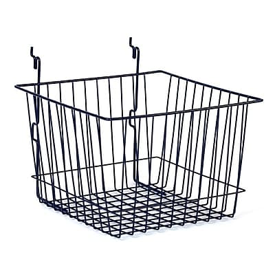 Wire Basket, Black, 12