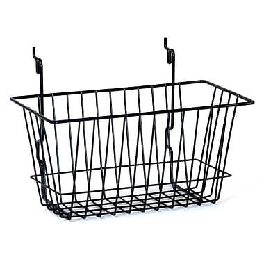 Wire Basket, Black, 12
