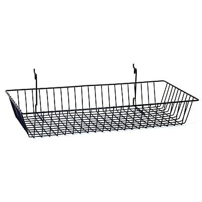 Wire Basket, Black, 24